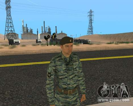 Pak Russian Military for GTA San Andreas eleventh screenshot