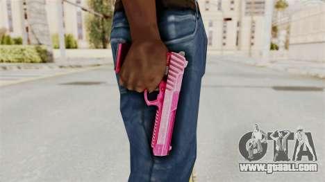 GTA 5 Pistol .50 Pink for GTA San Andreas