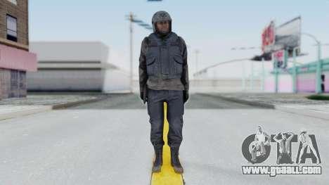 MGSV Phantom Pain Zero Risk Vest v1 for GTA San Andreas second screenshot