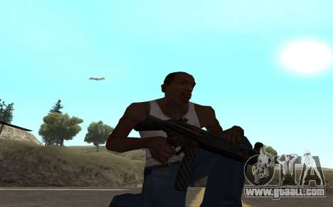 Redline weapon pack for GTA San Andreas seventh screenshot