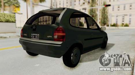 Chevrolet Corsa for GTA San Andreas back left view