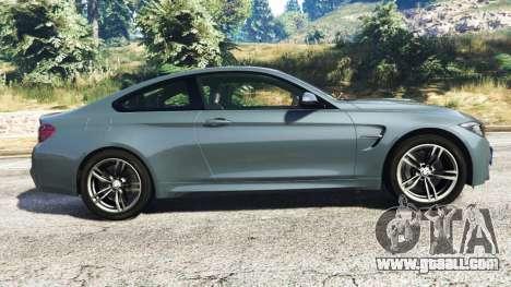 GTA 5 BMW M4 GTS left side view