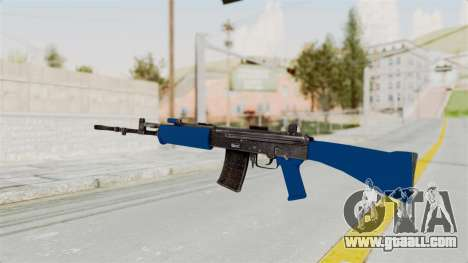 IOFB INSAS Dark Blue for GTA San Andreas second screenshot