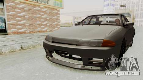 Nissan Skyline R32 4 Door for GTA San Andreas right view