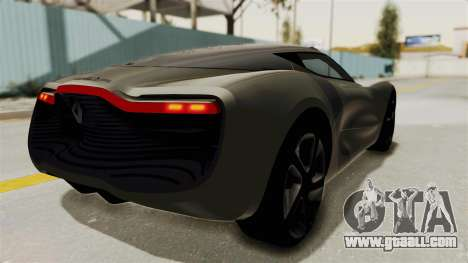 Renault Dezir Concept for GTA San Andreas left view