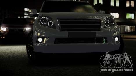 Toyota Land Crusier Prado 150 for GTA 4 right view