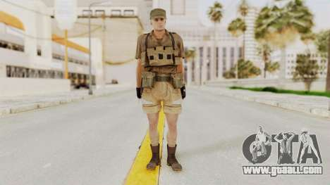 MGSV Phantom Pain CFA Combat Vest 1 v2 for GTA San Andreas second screenshot