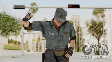 MGSV Phantom Pain Zero Risk Security Combat v2 for GTA San Andreas