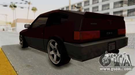 Blista CRX for GTA San Andreas left view