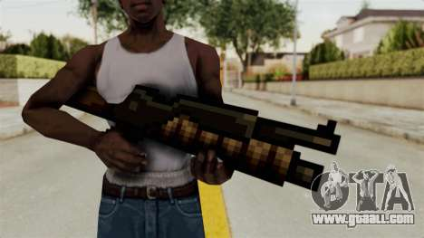 Heavy Machinegun from Metal Slug for GTA San Andreas third screenshot