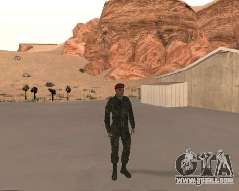 Pak Russian Military for GTA San Andreas forth screenshot
