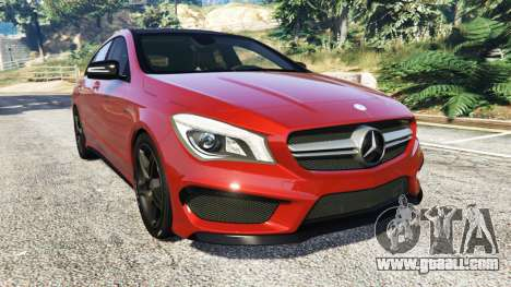 Mercedes-Benz CLA 45 AMG [AMG Wheels] for GTA 5