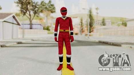 Alien Rangers - Red for GTA San Andreas second screenshot