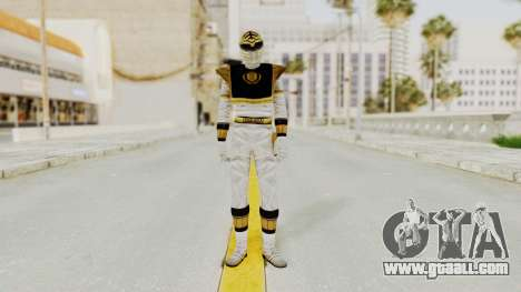 Mighty Morphin Power Rangers - White for GTA San Andreas second screenshot