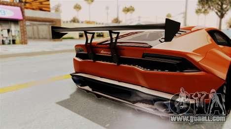 Lamborghini Huracan Libertywalk Kato Design for GTA San Andreas side view