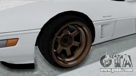 Chevrolet Corvette C4 Drift for GTA San Andreas back view