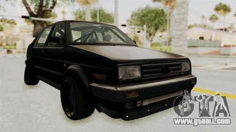 Volkswagen Jetta 2 for GTA San Andreas