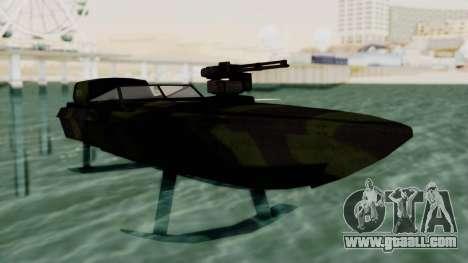 Triton Patrol Boat from Mercenaries 2 for GTA San Andreas