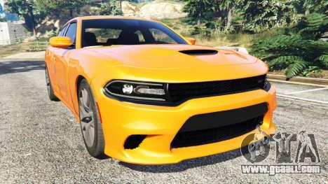 Dodge Charger SRT Hellcat 2015 v1.2 for GTA 5