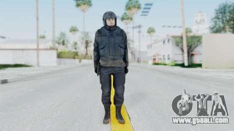 MGSV Phantom Pain Zero Risk Vest v2 for GTA San Andreas second screenshot
