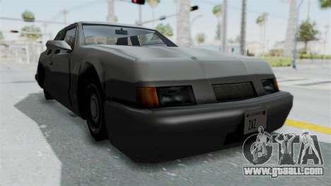 Lumia (Civil Hotring Racer) for GTA San Andreas