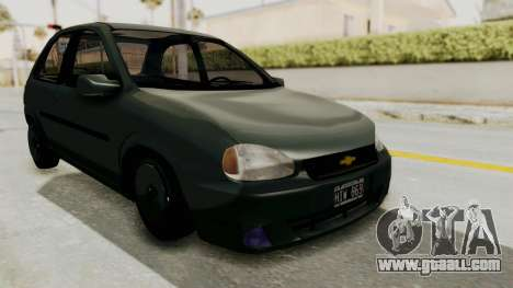 Chevrolet Corsa for GTA San Andreas right view