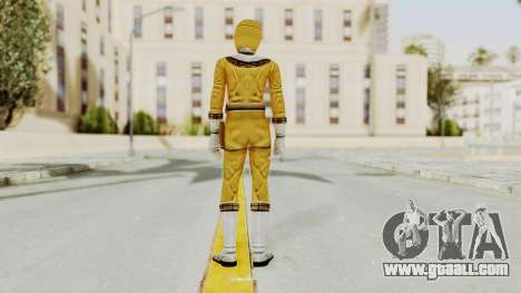 Power Ranger Zeo - Yellow for GTA San Andreas third screenshot