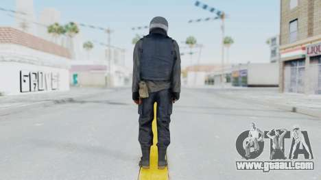 MGSV Phantom Pain Zero Risk Vest v1 for GTA San Andreas third screenshot