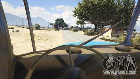 GTA 5 Ural-4320 1.2 back view