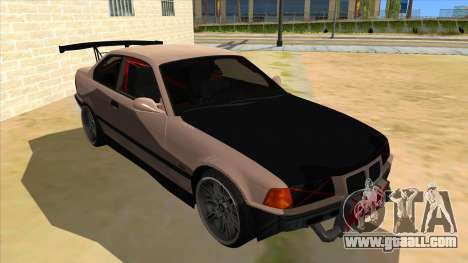 BMW M3 Drift Missile for GTA San Andreas back view