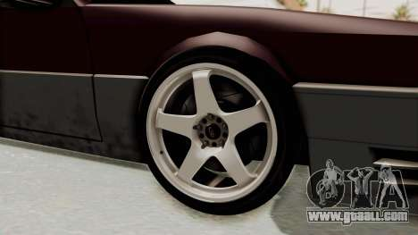 Blista CRX for GTA San Andreas back view