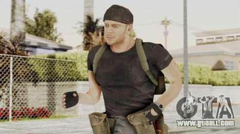 MGSV Phantom Pain RC Soldier T-shirt v1 for GTA San Andreas
