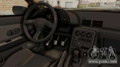 Nissan Skyline R32 4 Door for GTA San Andreas inner view