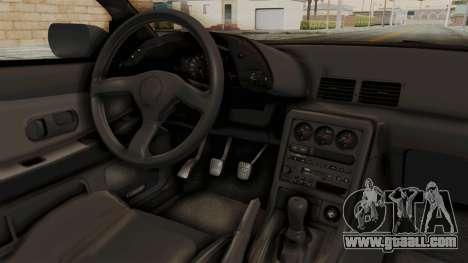 Nissan Skyline R32 4 Door for GTA San Andreas inner view