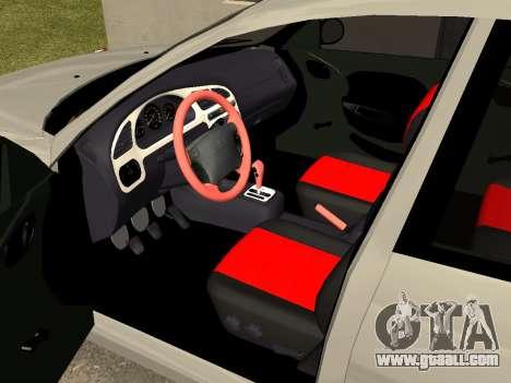Daewoo Lanos (Sens) 2004 v2.0 by Greedy for GTA San Andreas side view
