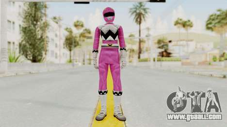 Power Rangers Lost Galaxy - Pink for GTA San Andreas second screenshot