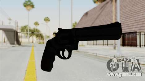 Colt .357 Black for GTA San Andreas