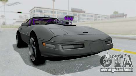 Chevrolet Corvette C4 Drag for GTA San Andreas right view