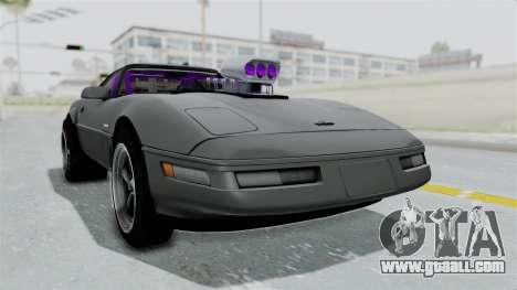 Chevrolet Corvette C4 Drag for GTA San Andreas right view