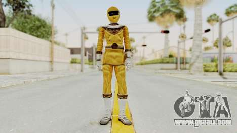 Power Ranger Zeo - Yellow for GTA San Andreas second screenshot