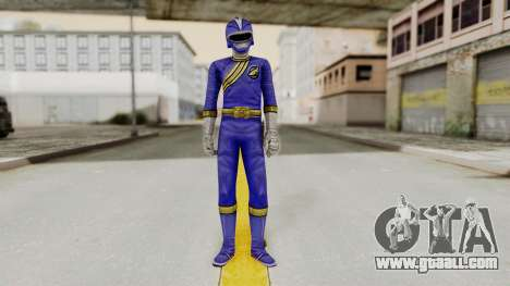 Power Rangers Wild Force - Blue for GTA San Andreas second screenshot