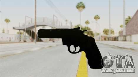Colt .357 Black for GTA San Andreas second screenshot