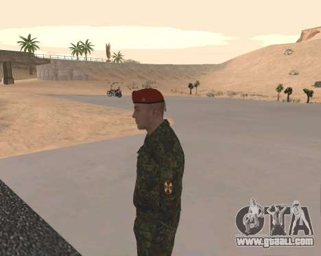 Pak Russian Military for GTA San Andreas eighth screenshot