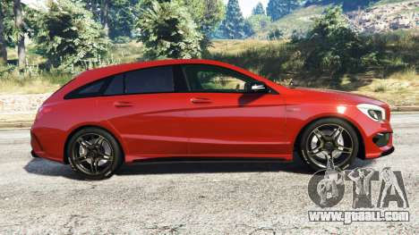 GTA 5 Mercedes-Benz CLA 45 AMG [AMG Wheels] left side view