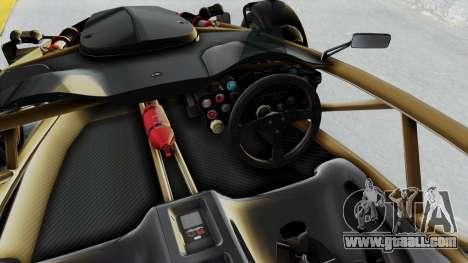 Ariel Atom 500 V8 for GTA San Andreas inner view