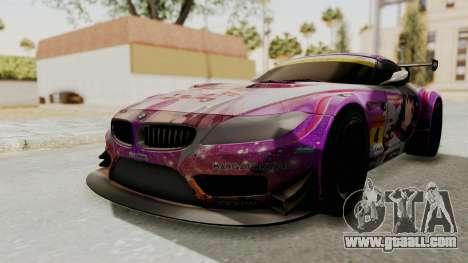 BMW Z4 GT3 Tobisawa Misaki for GTA San Andreas