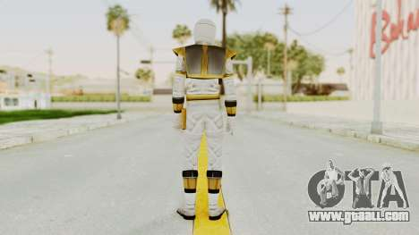 Mighty Morphin Power Rangers - White for GTA San Andreas third screenshot