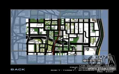 Maserati Wall Grafiti for GTA San Andreas second screenshot