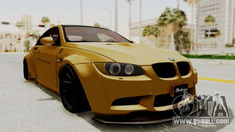 BMW M3 E92 Liberty Walk for GTA San Andreas