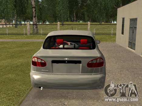 Daewoo Lanos (Sens) 2004 v2.0 by Greedy for GTA San Andreas right view